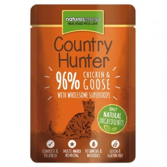 Natures Menu Cat Country Hunter Pouch Kip & Gans