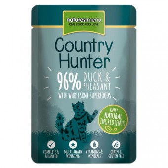 Natures Menu Cat Country Hunter Pouch Eend & Fazant