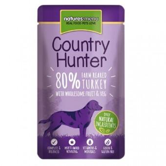 Natures Menu Dog Country Hunter Pouch Kalkoen