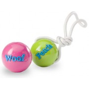 Planet Dog Fetch bal met koord