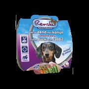 Renske Vers Hond eend met konijn mousse