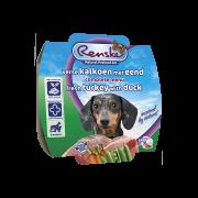 Renske Vers Hond kalkoen met eend mousse