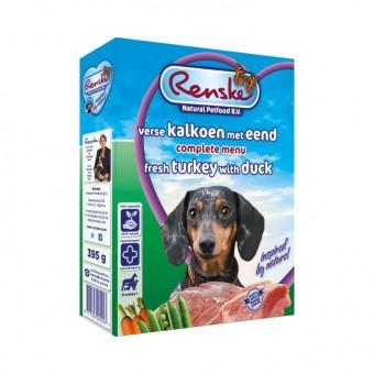 Renske Vers Hond kalkoen & eend