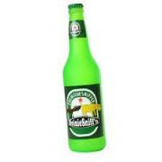 Tuffy Silly Squeaker Beer Bottle Heinie Sniffn