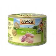 Mac's Blikvoer eend, kalkoen & kip (kat)