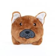 Zippy Paws Squeakie French Bulldog Bun